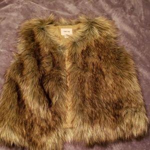 Jackets & Blazers - Girls XL Fur Vest